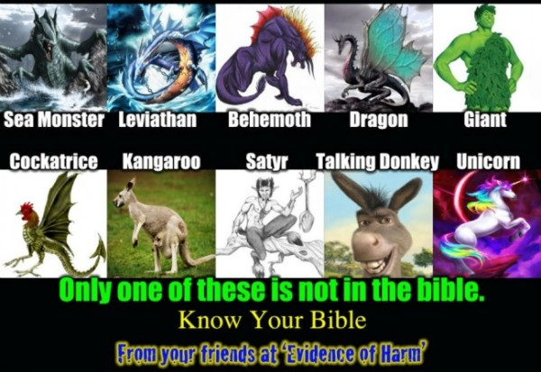 Magic Creatures in the Bible