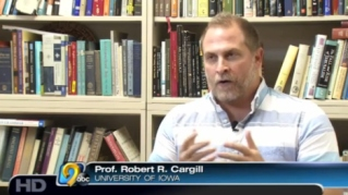 Dr. Robert R. Cargill, Asst. Professor of Classics and Religious Studies, University of Iowa, appears on KCRG-TV9 to discuss same-sex marriage.